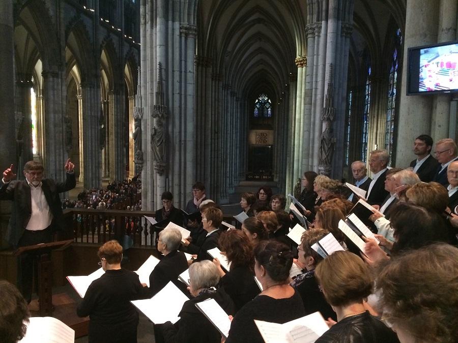 Konzert Kolner Dom 2018